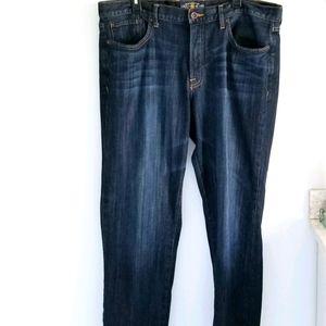 Lucky Brand vintage straight leg blue jeans 38x32